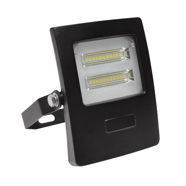 Domus Lighting BLAZE-10 LED 10W IP66 Floodlight with Black Polycarbonate Fascia