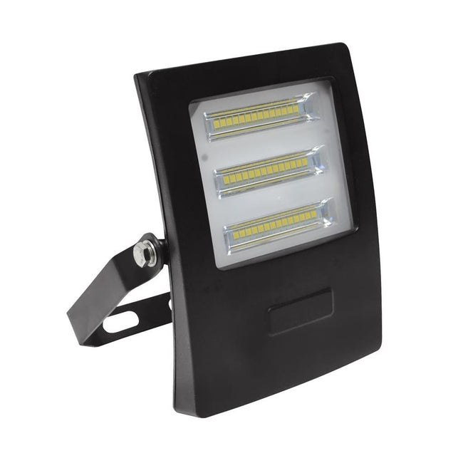 Domus Lighting BLAZE-20 LED 20W IP66 Floodlight with Black Polycarbonate Fascia