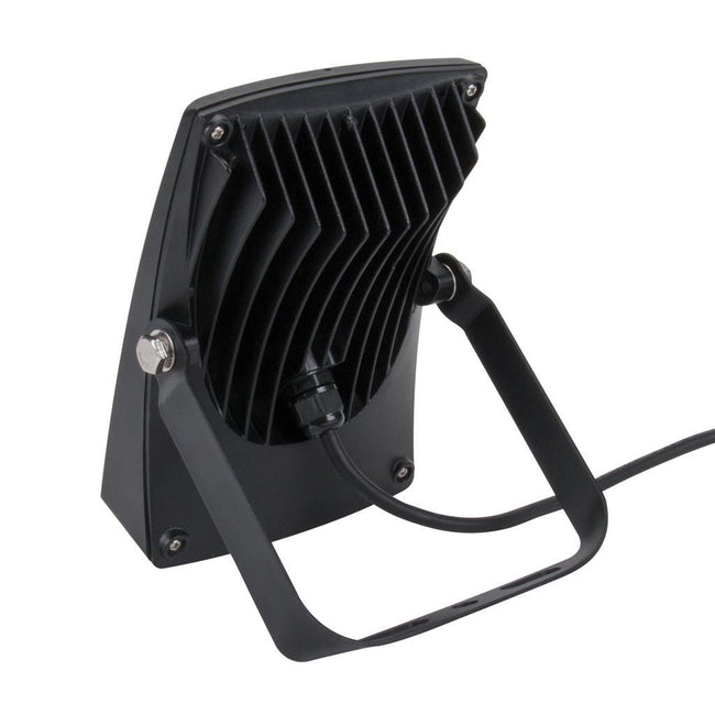 Domus Lighting BLAZE-30 LED 30W IP66 Floodlight with Black Polycarbonate Fascia