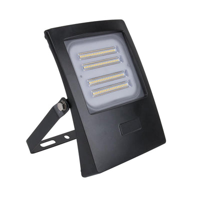 Domus Lighting BLAZE-50 LED 50W IP66 Floodlight with Black Polycarbonate Fascia | Alpha Lighting & Electrics