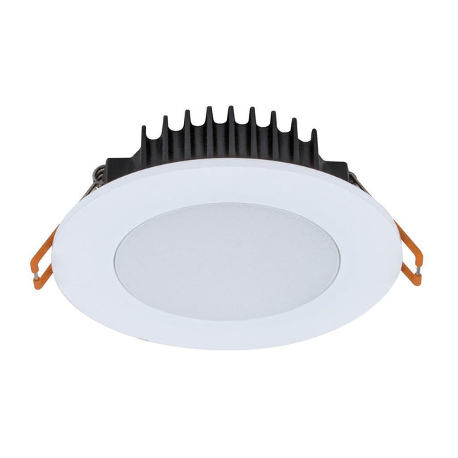 Domus Lighting BLISS-10 Round 10W Dimmable Colour Change Switchable LED Downlight - White Frame