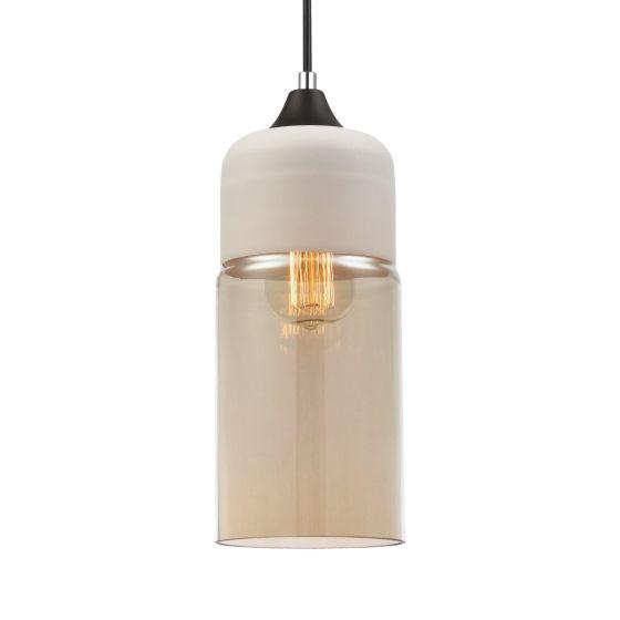 CLA Lighting Casa Amber Oblong Pendant