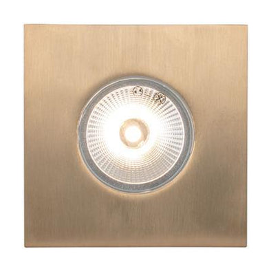 Domus Lighting Deka Square Cover to Suit Deka-Body - Solid Brass