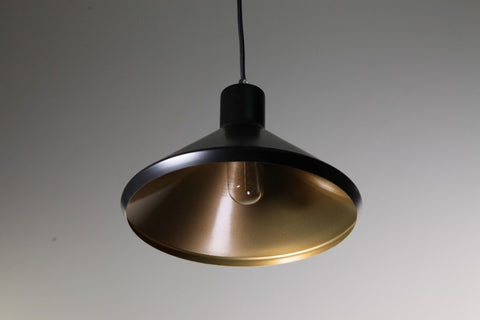 Bengt Pendant Copper 28cm She Lights | Alpha Lighting & Electrics