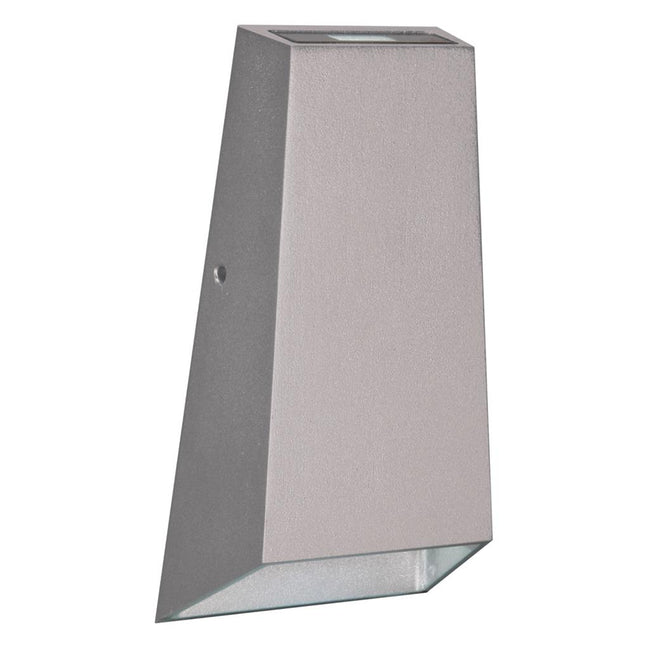 Domus Lighting IWAVE 6W LED IP65 Wall Light 240V - Silver