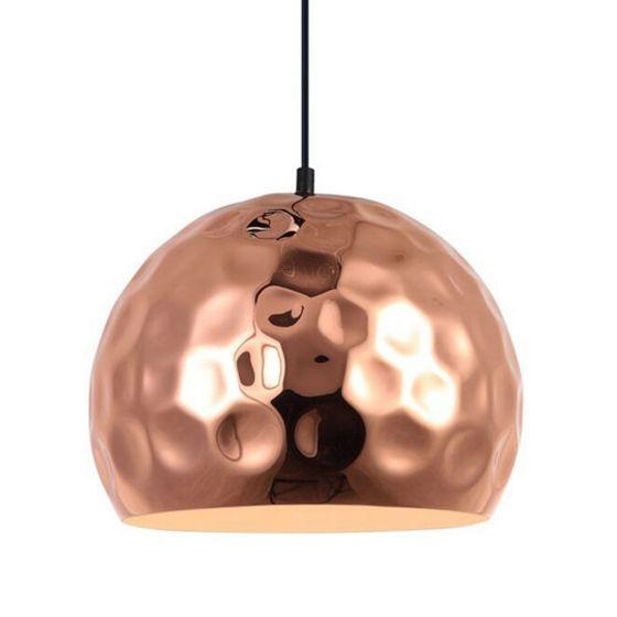 CLA Lighting Copper Plated Wine Glass Pendant