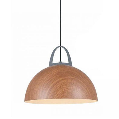 CLA Lighting Legna Salem Oak Dome Shaped Pendant