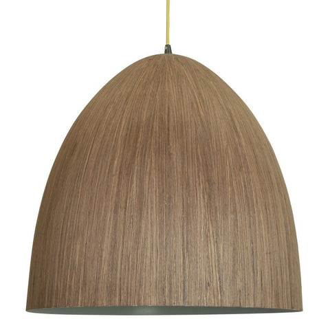 Cacia Pendant Wood Veneer 1 Metal 50cm She Lights