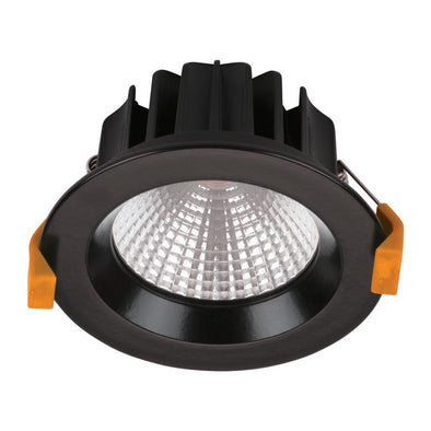 Domus Lighting NEO-13 Round 13W Dimmable LED Downlight - Black Frame