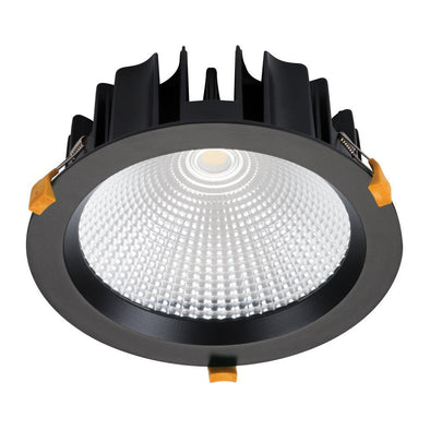 Domus Lighting NEO-35 Round 35W Dimmable LED Downlight - Black Frame