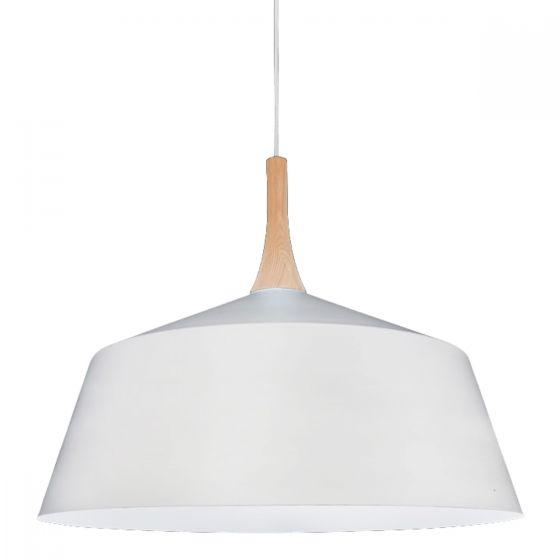 CLA Lighting Nordic Metal and Timber Pendant Large