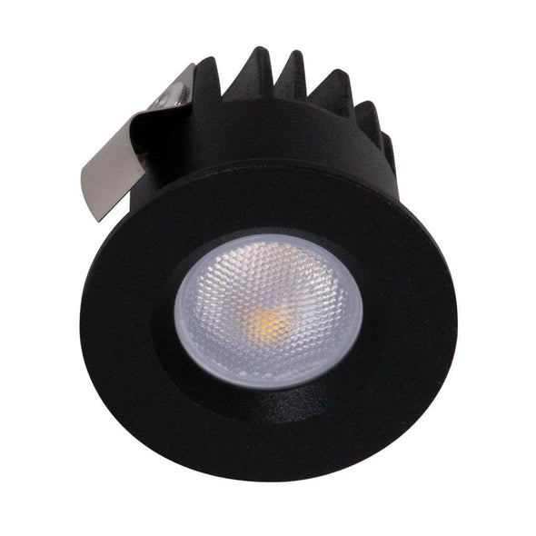 Domus Lighting POCKET-3 Round 3W Recessed Mini LED Kit Black
