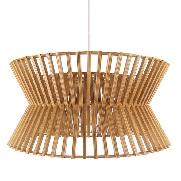 Replica Secto Design Seppo Koho Kontro Pendant Light in White Black or Natural 45cm