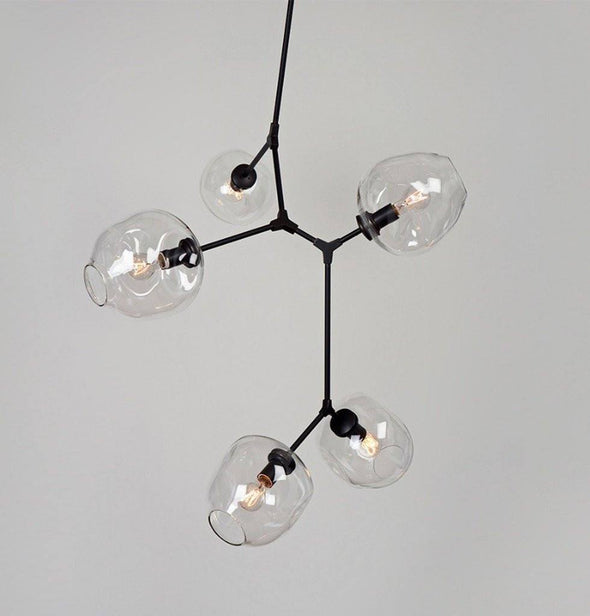 5 Arm Branching Bubble Chandelier by Lindsey Adelman - Alpha Lighting & Electrics
