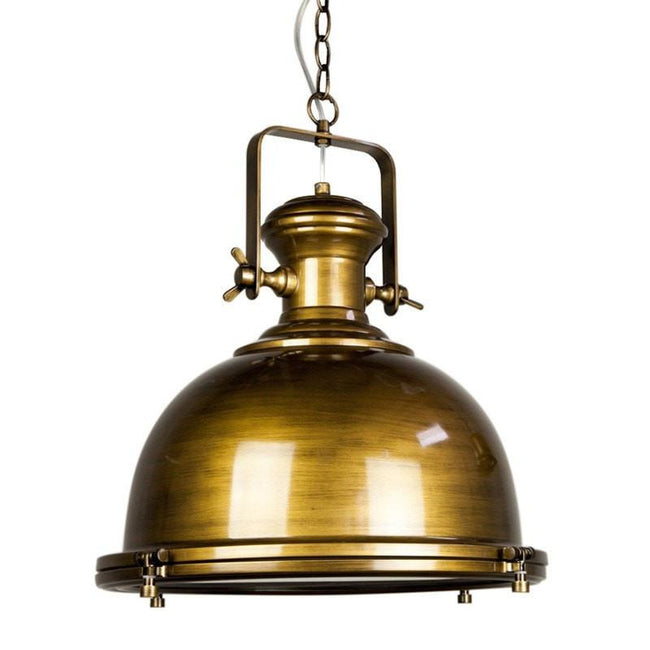 Gaia Industrial Pendant Metal 40cm She Lights