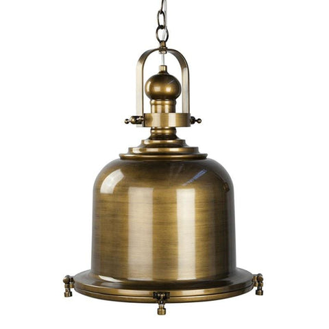 Gaia Classic Pendant Metal 40cm She Lights - Alpha Lighting & Electrics