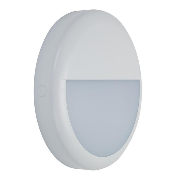 Domus Lighting VERSA-300 Round Eyelid LED Bunker Light IP65 240V - White