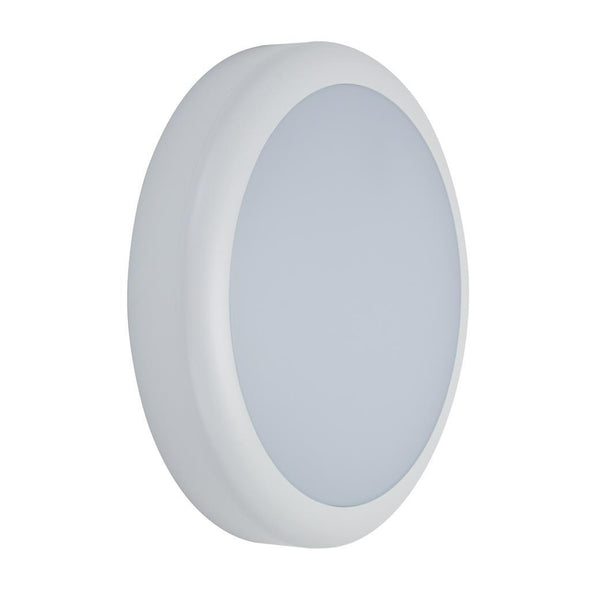 Domus Lighting VERSA-300 Round Plain LED Bunker Light IP65 240V - White