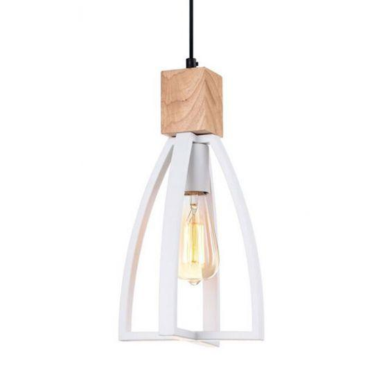 CLA Lighting Faro White Metal Pendant
