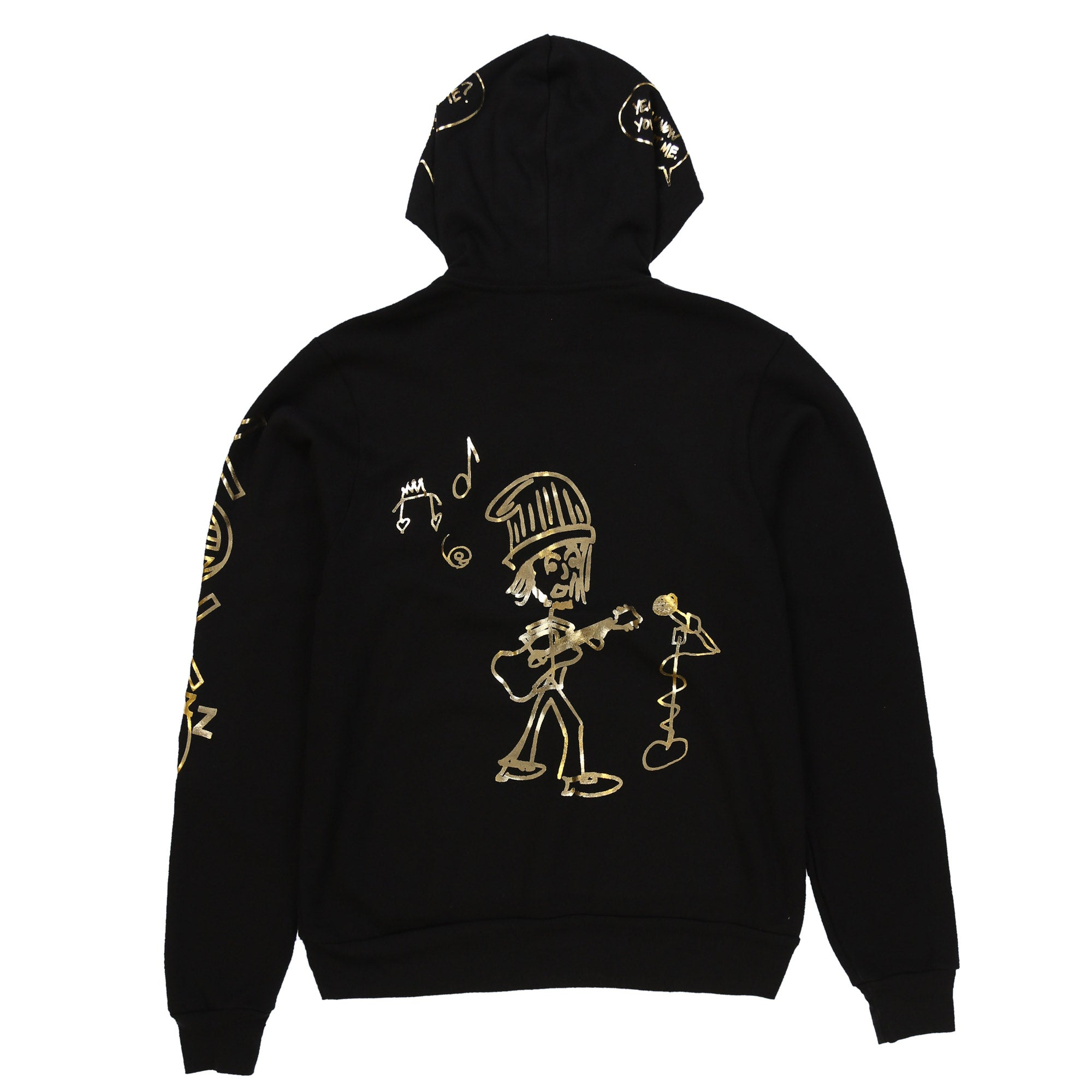 East of Eli Black Sketch Hoodie