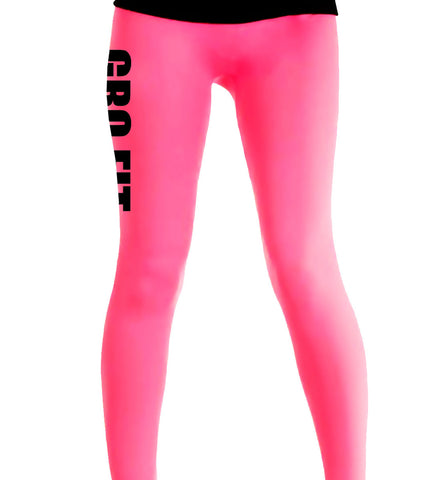 GRo Fit Neon Leggings