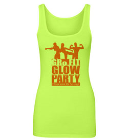GRo Fit Glow Party Tank