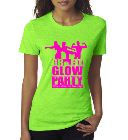GRo Fit Glow Party Tee