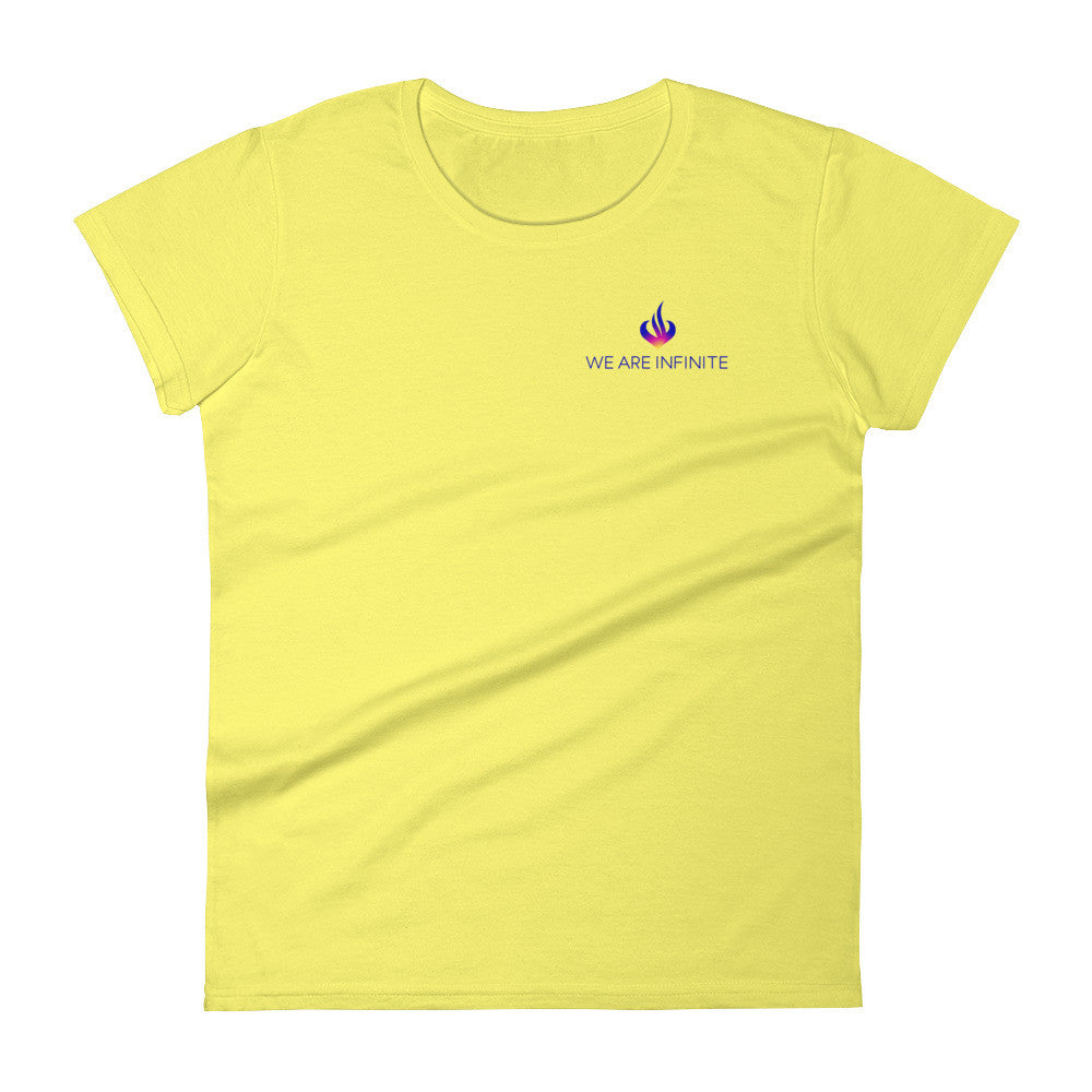 WE ARE INFINITE - Women's short sleeve t-shirt - Small Logo