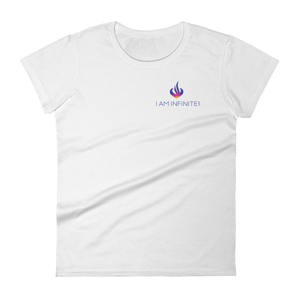 I AM INFINITE.Love - Women's short sleeve t-shirt - Small Logo