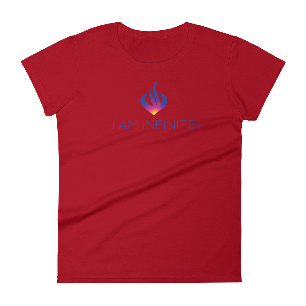 I AM INFINITE.LOVE - Women's short sleeve t-shirt