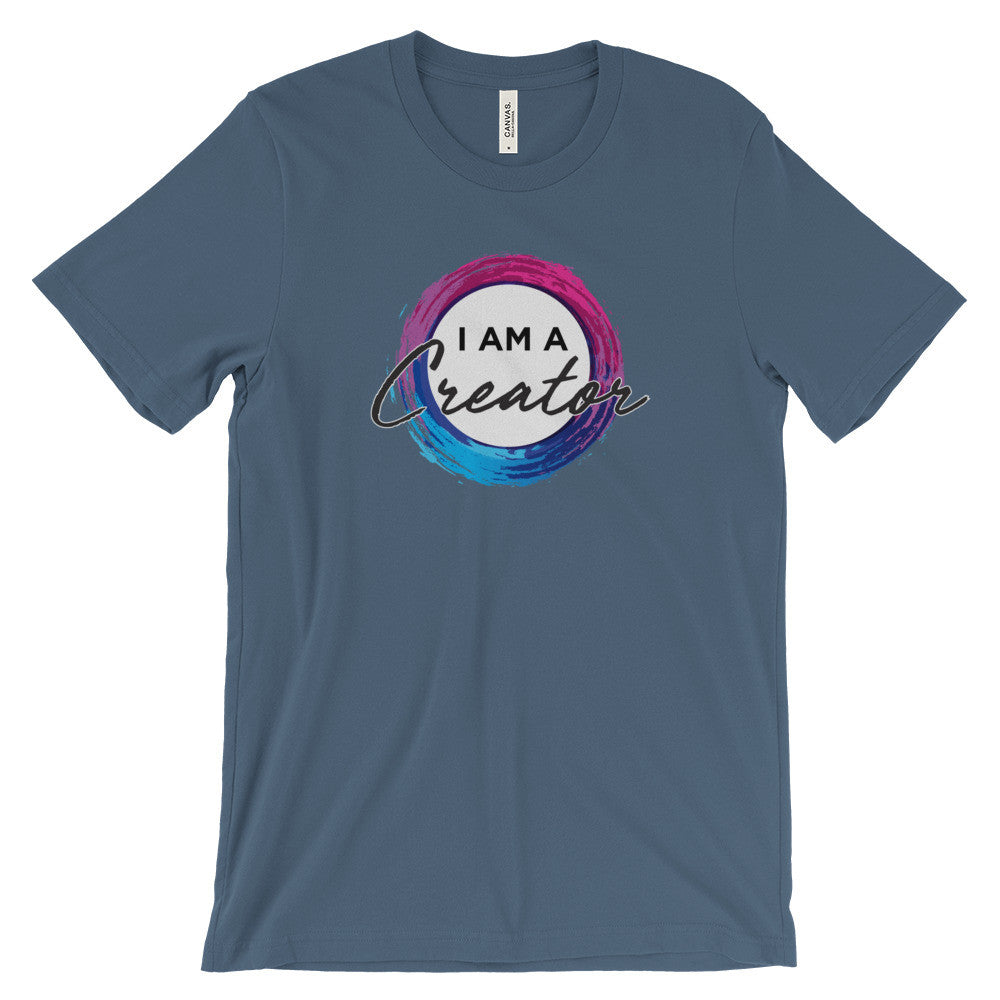 I AM A CREATOR - Unisex short sleeve t-shirt