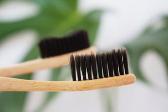 Charcoal Toothbrush 2-pack - Small