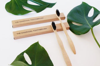 Charcoal Toothbrush 4-pack