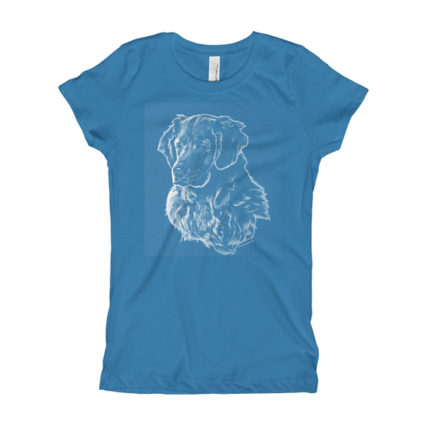 Golden Retriever - Girl's T-Shirt