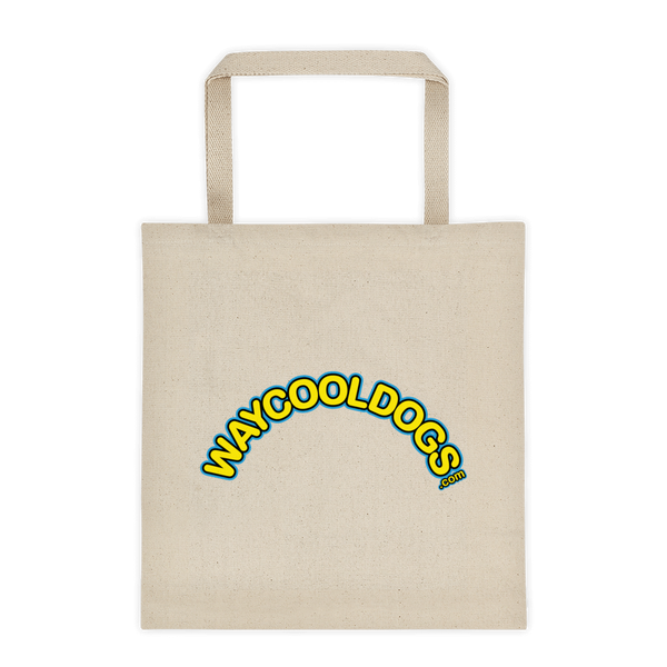 Tote Bag - Round Way Cool Dogs Logo
