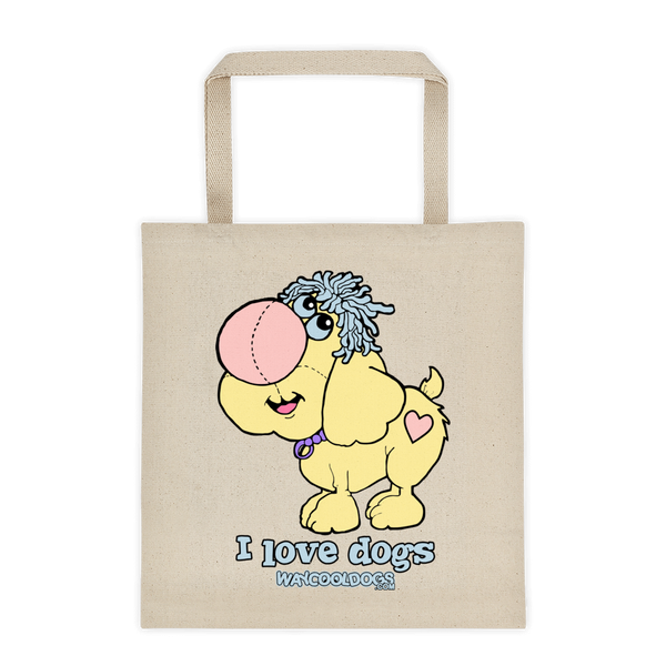 Tote Bag I Love Dogs