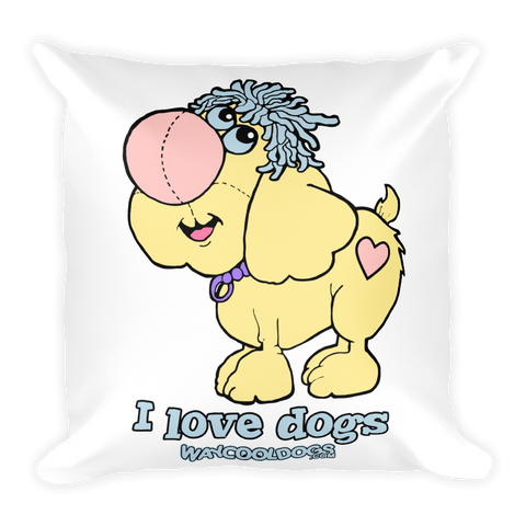 Pillow - I Love Dogs