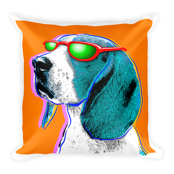 Pillow - Beagle Pop Art