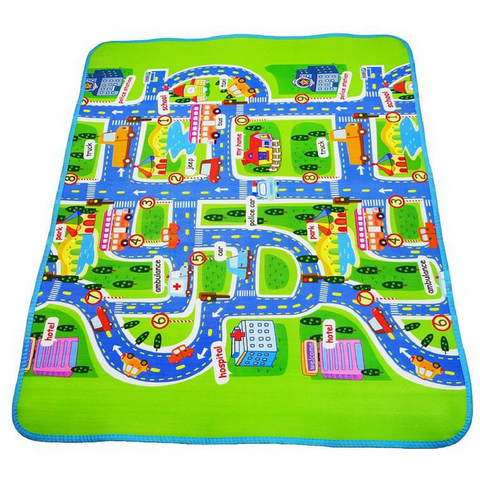 City Roads Playmat