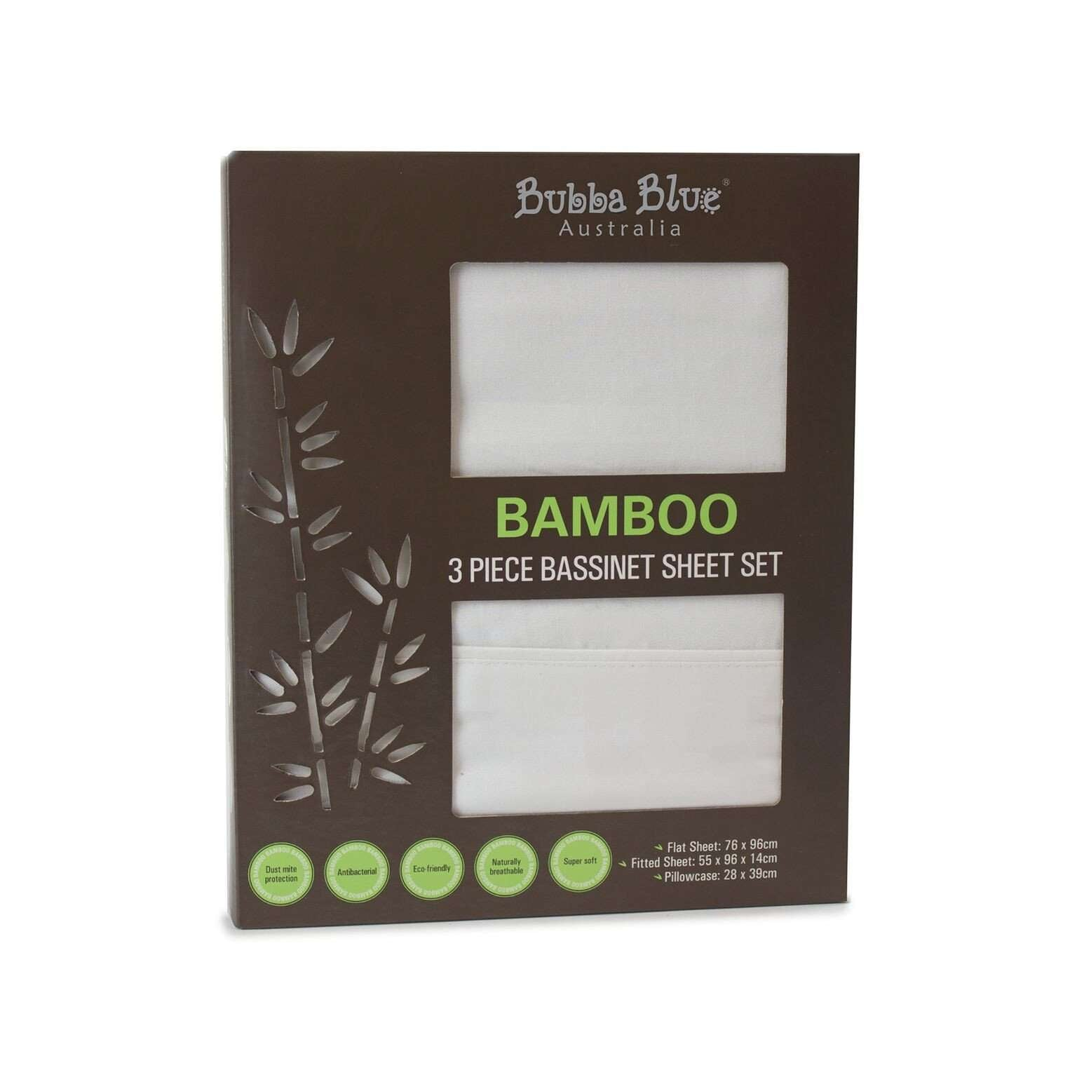 b125415bc024 Bamboo - White - Bassinet Sheet Set  34.95