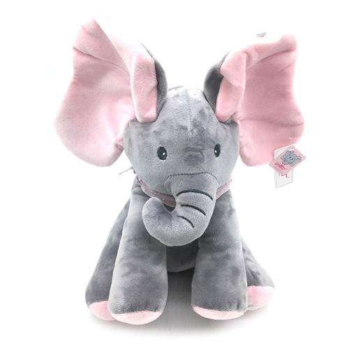 Peek A Boo Singing Elephant Plush Flappy Toys Online