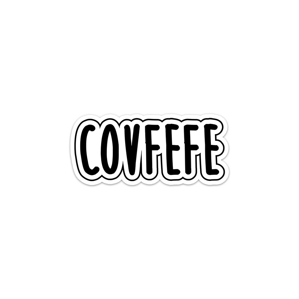 covfefe meme sticker