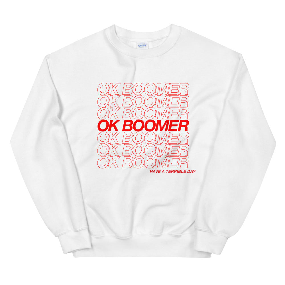 ok boomer Sweater