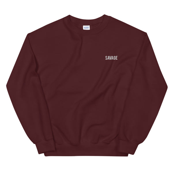 Savage Sweater (Embroidered)