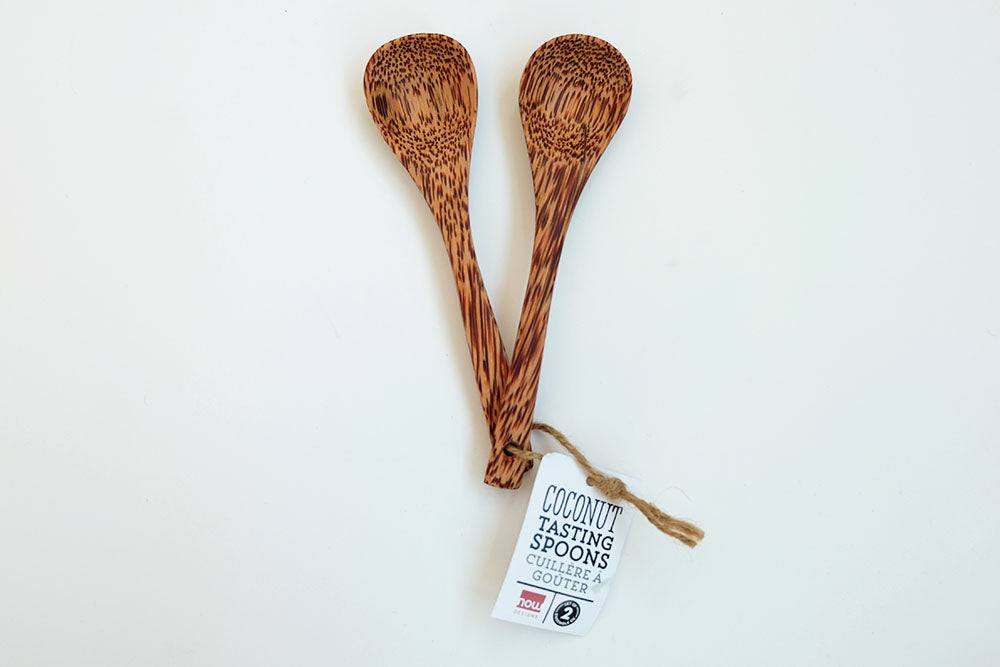 Set of Coconut Tasting Spoons
