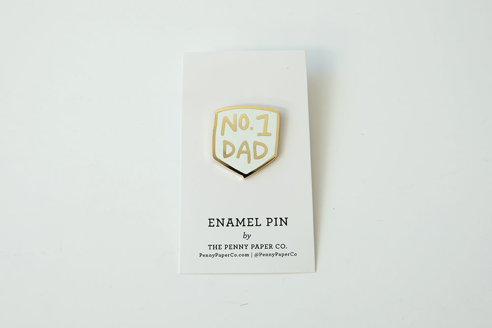 No.1 Dad Enamel Pin