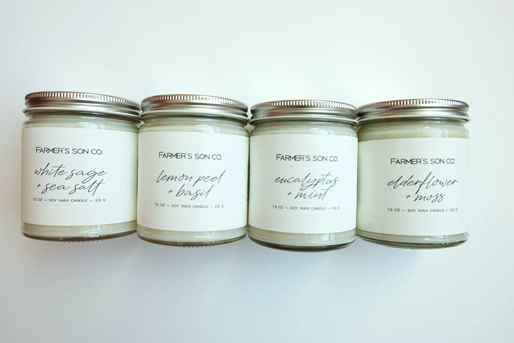 Farmer's Son Co. Candles