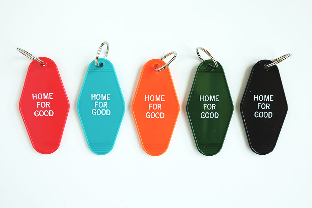 Home For Good Keychain