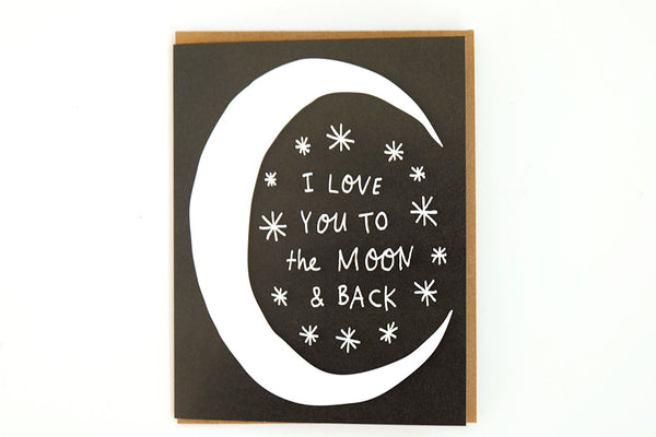Valentine's Day - I Love You to the Moon and Back