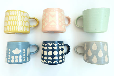 Ceramic Imprint Mugs